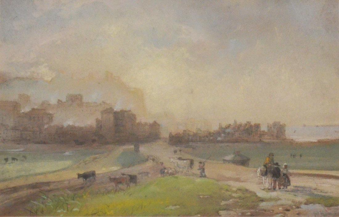 Original Watercolor Seascape Signed William Hunt - 2