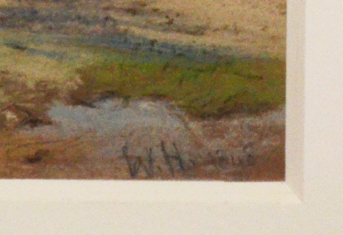 Original Watercolor Seascape Signed William Hunt - 3