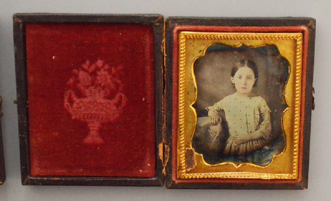 Lot Of Antique Tintypes & Cabinet Photos - 3