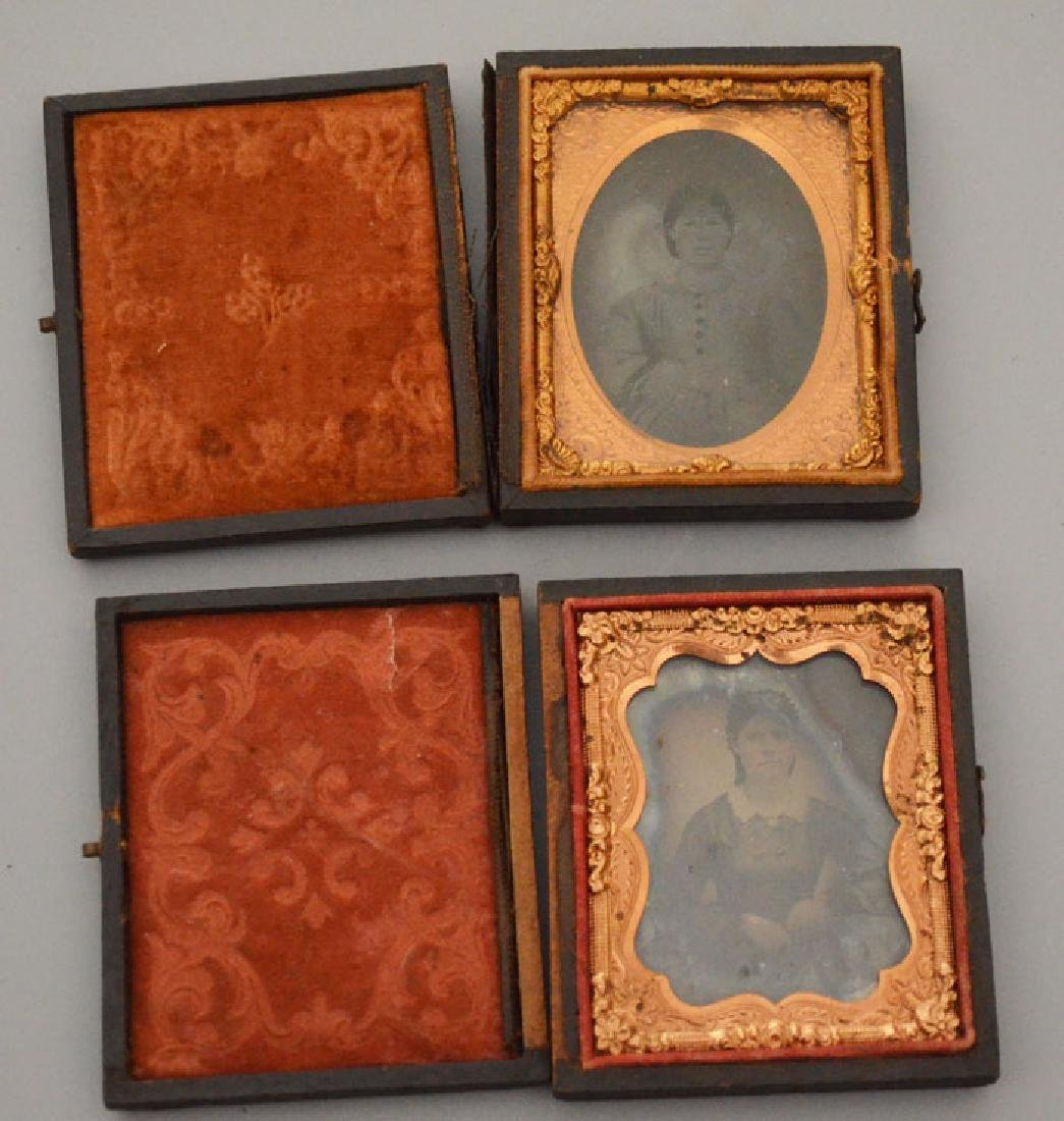 Lot Of Antique Tintypes & Cabinet Photos - 5
