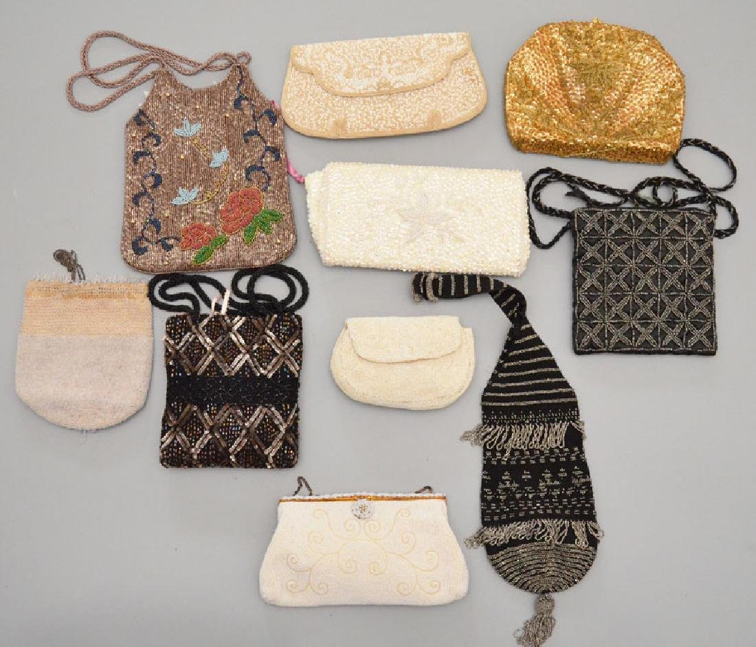 Lot of 15 Fun Vintage Evening Bags & Purses