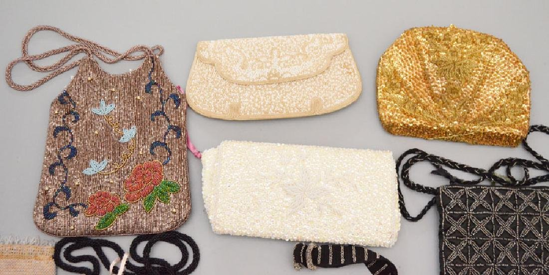 Lot of 15 Fun Vintage Evening Bags & Purses - 2