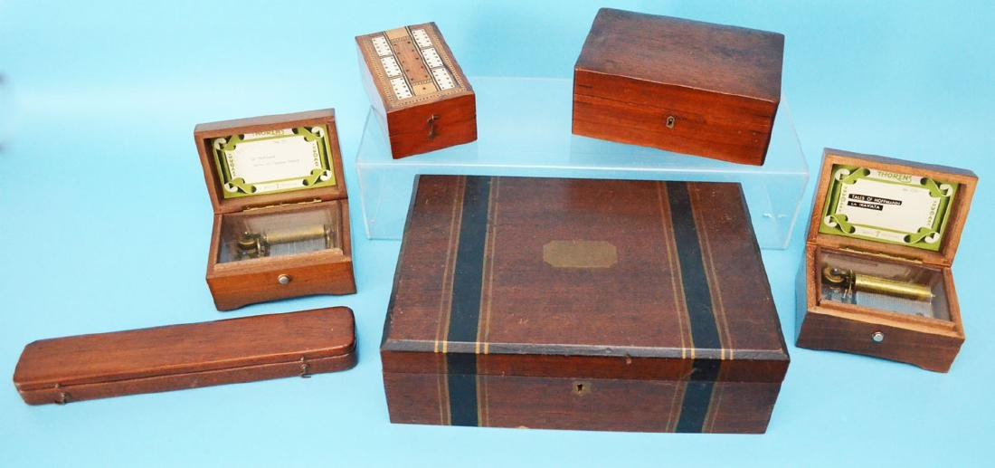 Nice Lot Of Unusual Boxes & Music Boxes