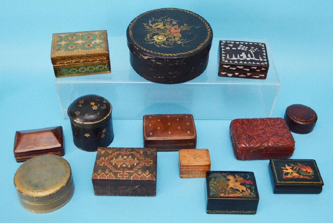 Generous Lot Of Antique & Decorative Boxes