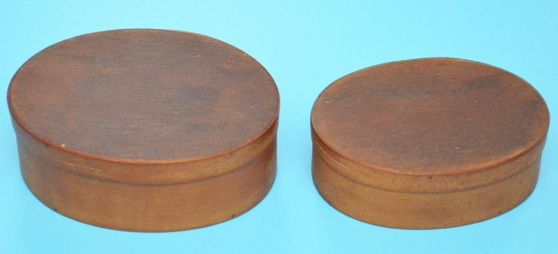 Attic Find Of 2 Antique Shaker Wood Boxes - 3