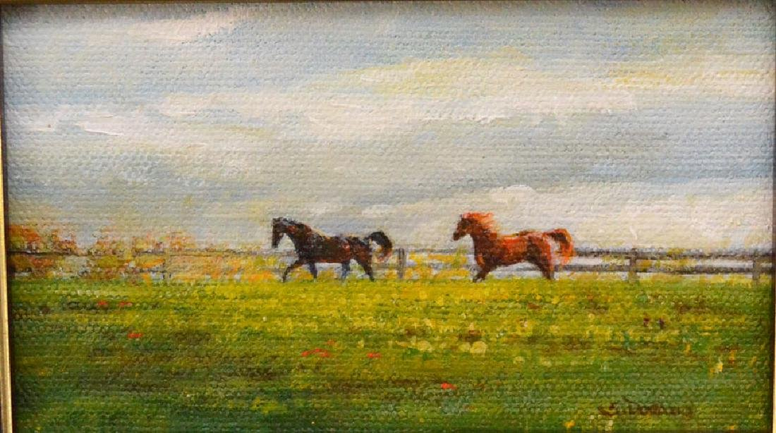 Little Charmer Of Horses Signed Susan Dorazio - 2