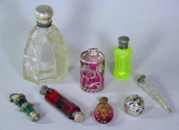 111: Incredible Lot Of  Vintage Perfume Bottles