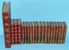 Lot Of Antique Decorative Leather Bound Books
