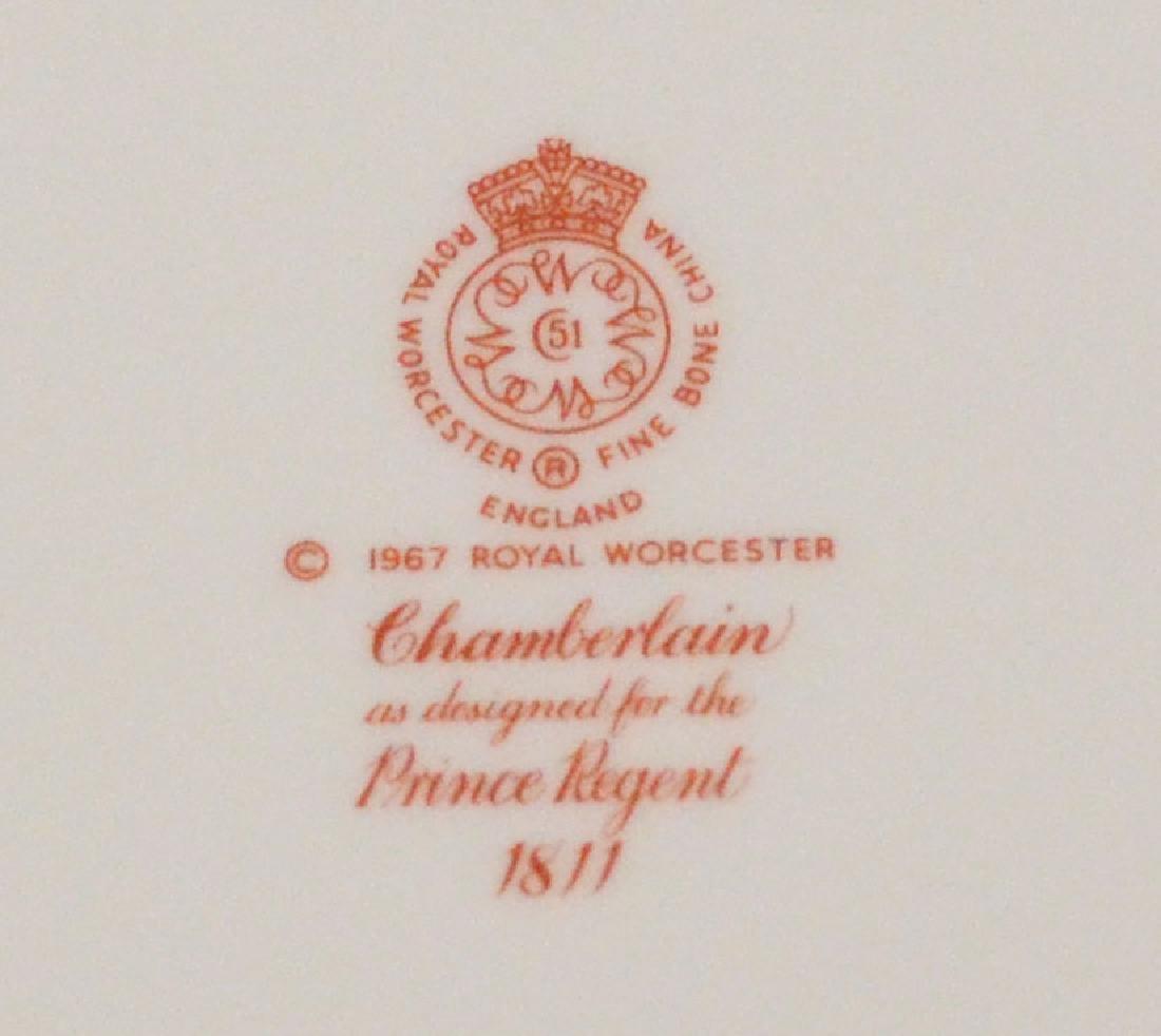 16 Royal Worcester Chamberlain Plates - 2