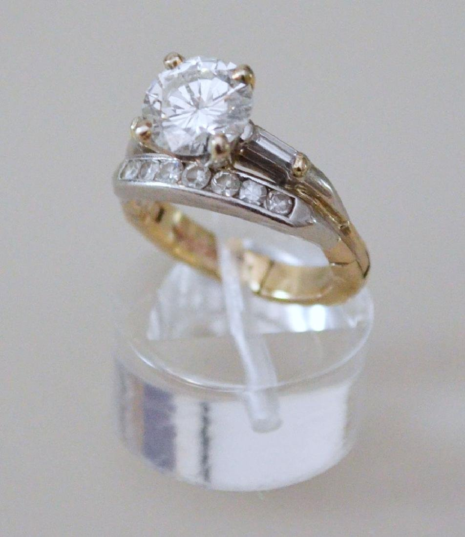 Classic & Chic 1.75 Ct Diamond Ring With Channel Set