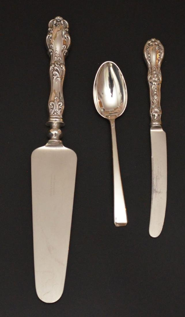 Sterling Silver Spoons, Porringer, Mug & Serving - 2
