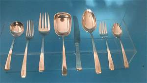 47 Pcs of Towle Craftsman Sterling Silver Flatware