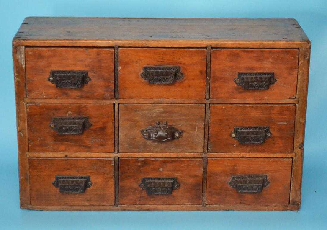 - Charming Diminutive Antique Apothecary Cabinet