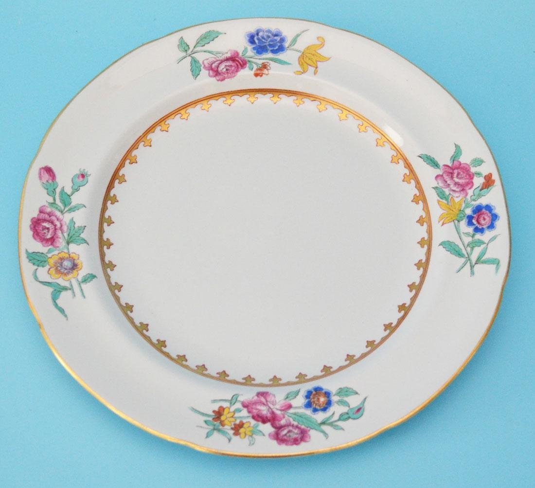 Set of 12 Copeland Spode for Tiffany Plates - 2