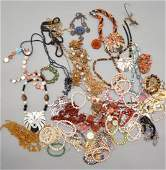 Large Group of Estate Costume Jewelry
