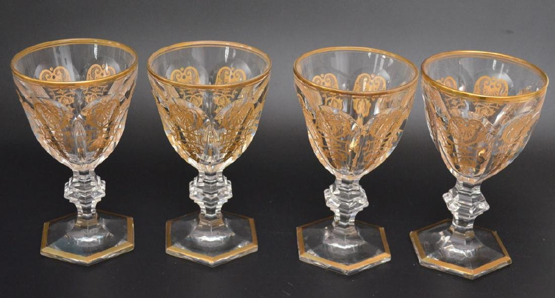 14 Harcourt Empire Baccarat  Glasses - 2