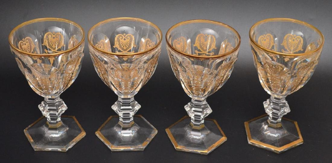14 Harcourt Empire Baccarat  Glasses - 3
