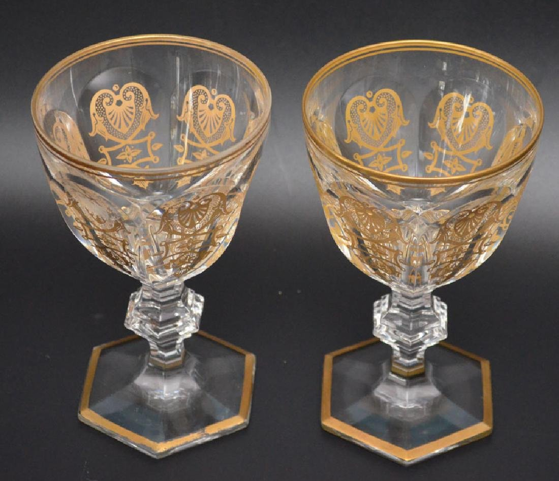 14 Harcourt Empire Baccarat  Glasses - 5