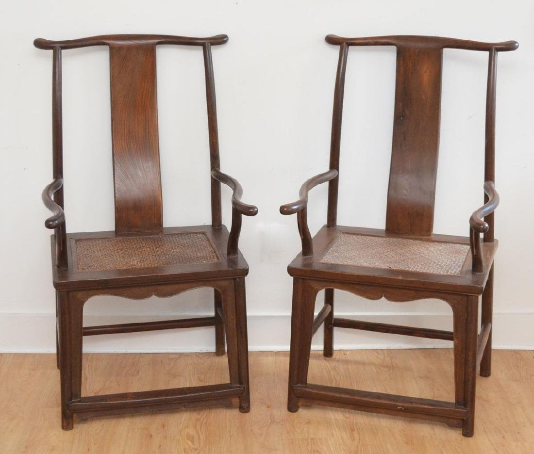 Estate Fresh Chinese Wooden Chairs ( Huanghuali??)