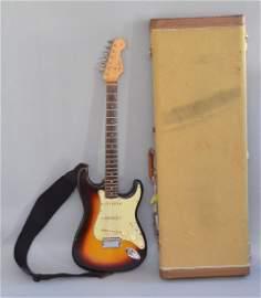 1963 Fender Stratocaster Sunburst Guitar