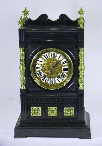 16: Monumental 19th C. French Marble Mantle Clock