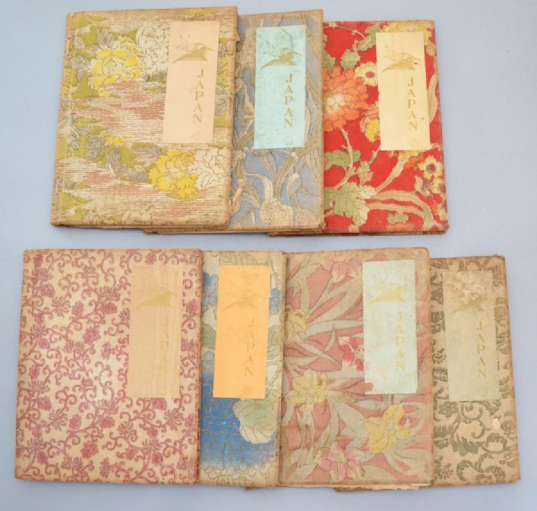 Set of 7 Yedo Edition Japanese Books