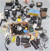 Lot of Vintage Camera & Photography Accessories
