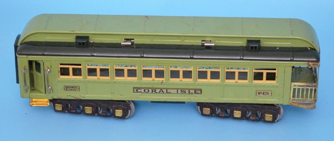 Vintage Lionel Train 426 Coral Isle Car - 2