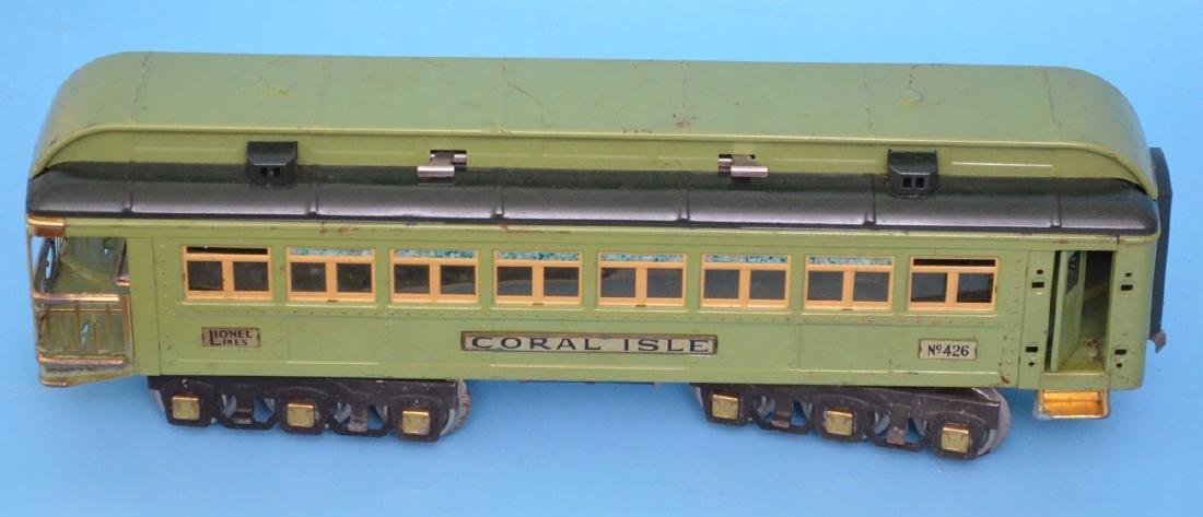 Vintage Lionel Train 426 Coral Isle Car - 3