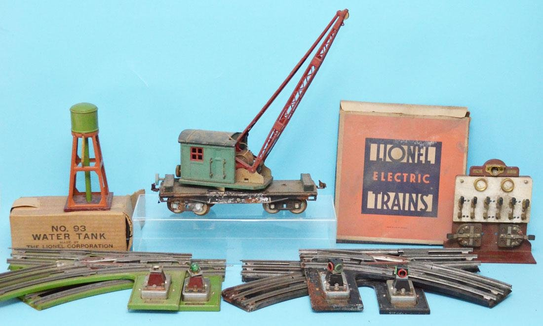 Lot Of  Vintage Lionel Train Accessories ( Switches )