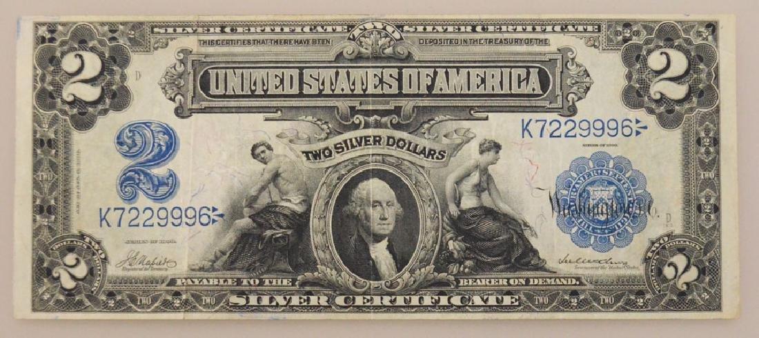 1899 United States 2 Dollar Bill