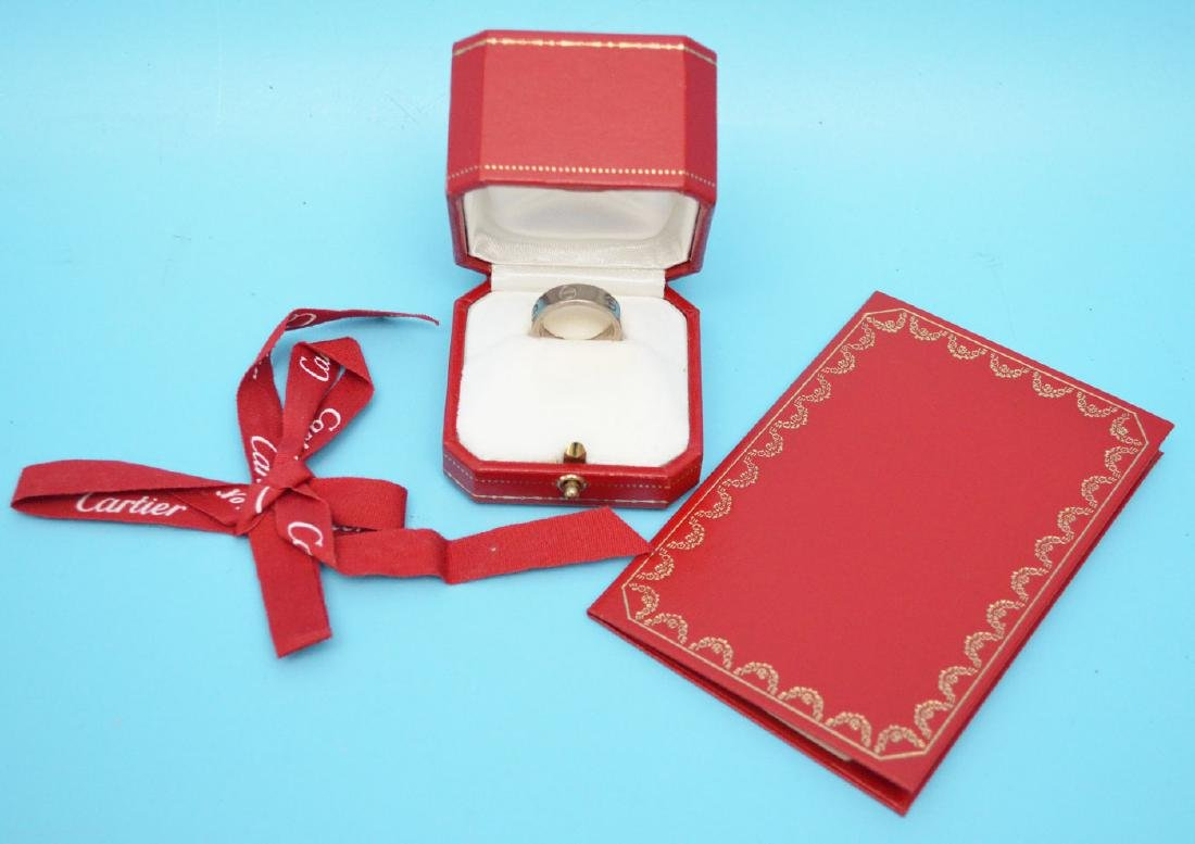 Cartier Love Ring with Box & Certificate