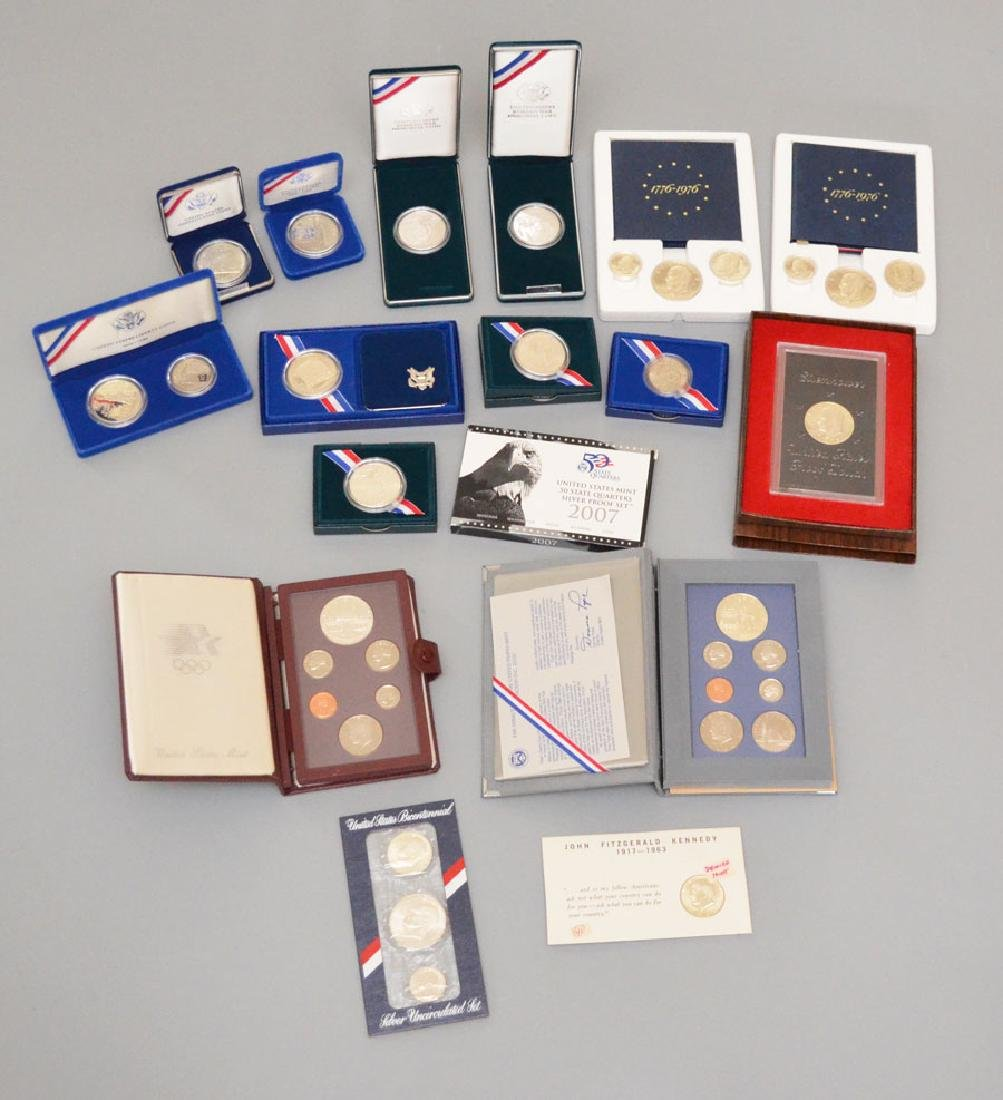Sterling Silver Proof Coins