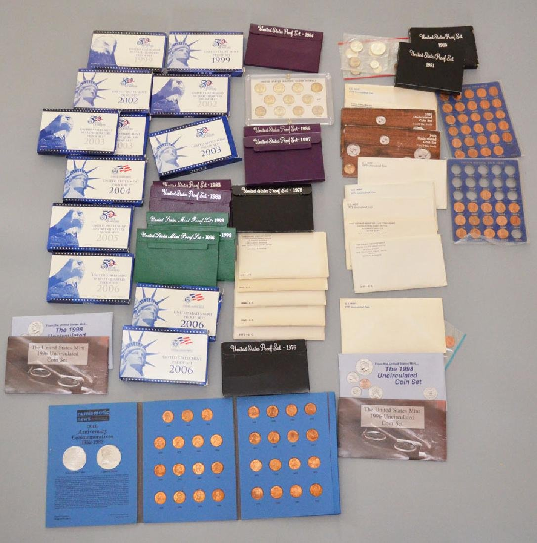 Collection of American Proof Sets