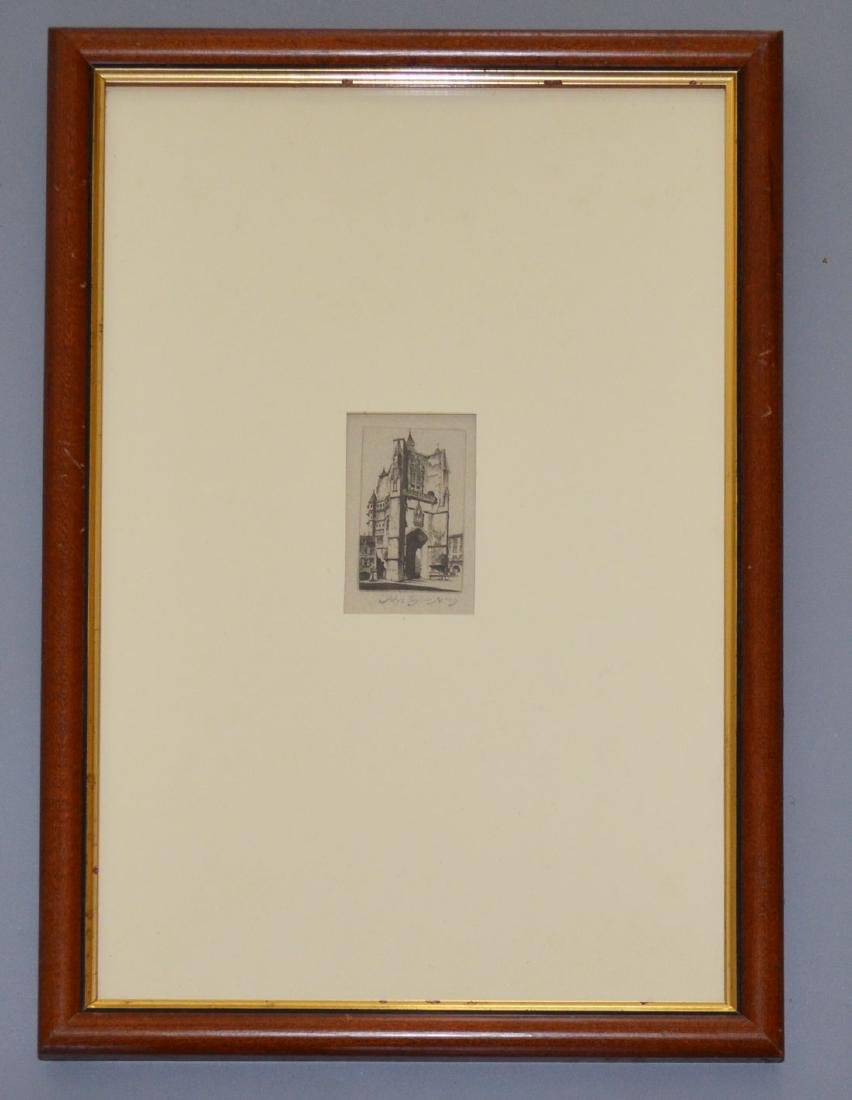 Signed John Taylor Arms House of Our Lady Etching
