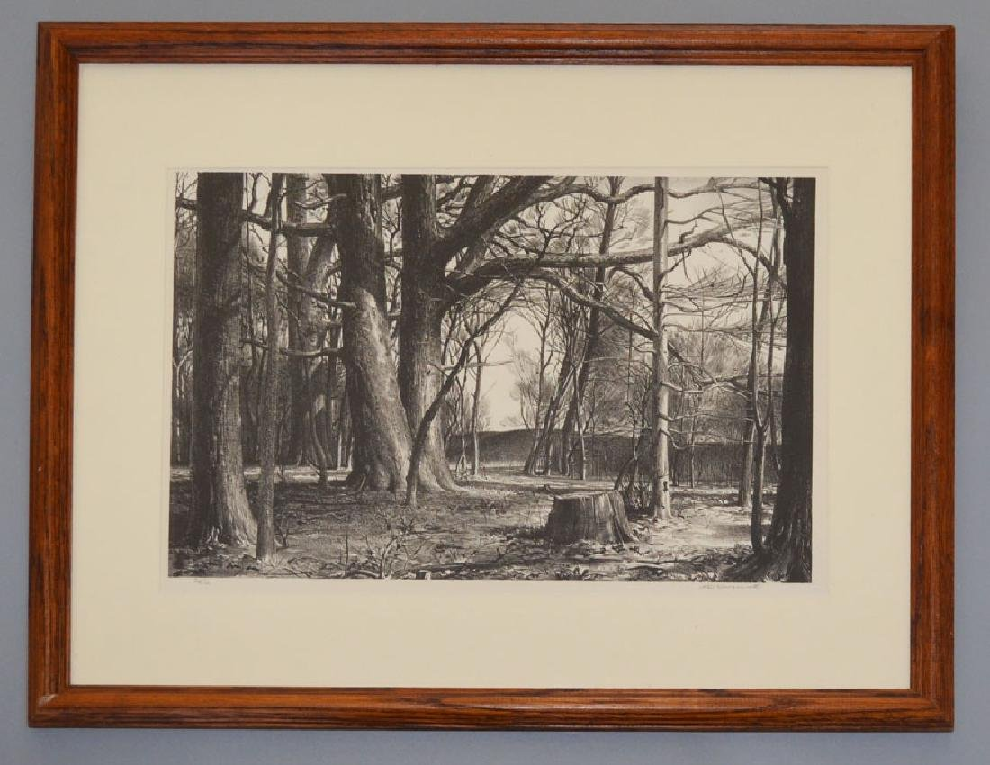 Signed Stow Wegenroth Lithograph
