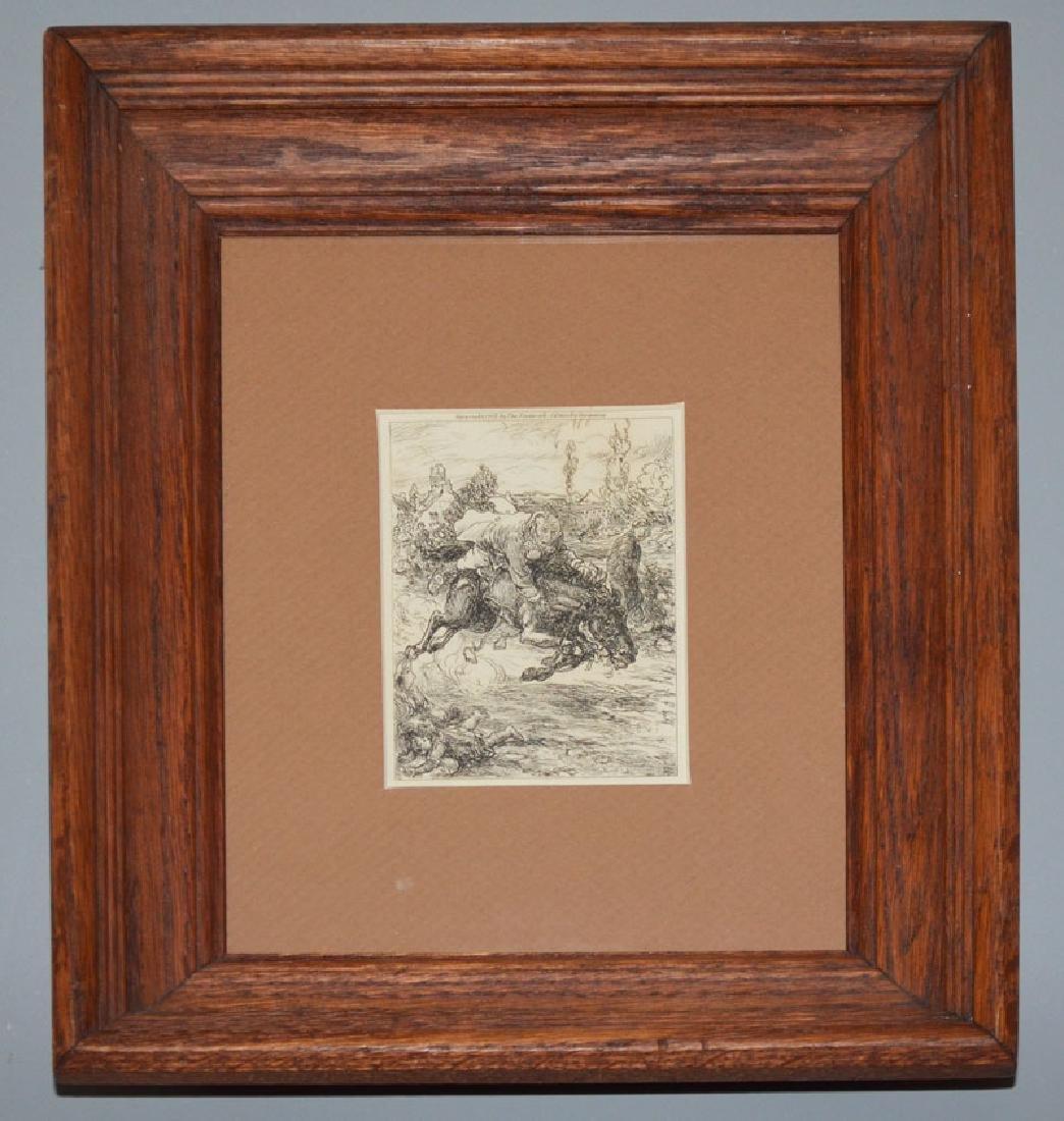 Ca 1902 John Sloan Etching