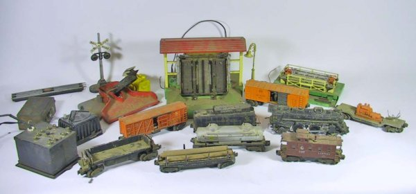 3: Lionel Train Set / Accessories( 8204, 6457, 63132,