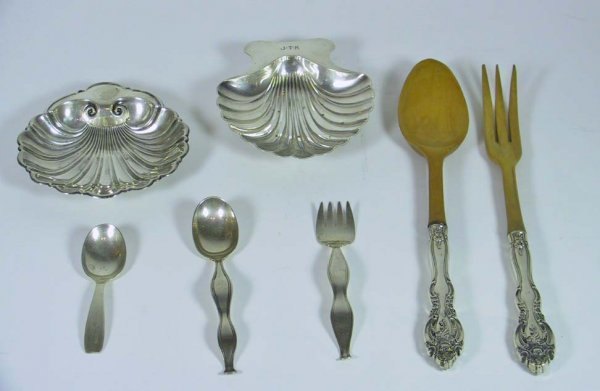 13: 7 Pcs of Tiffany & Co. Sterling Silver and Gorham