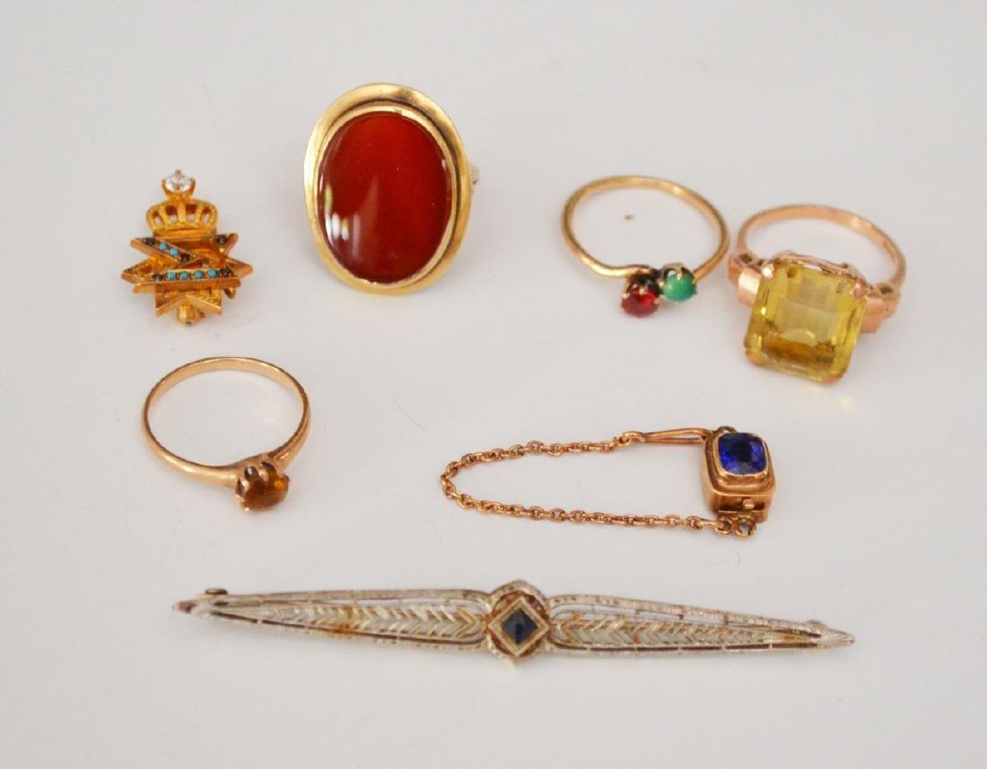 Lot of 14k & 10K Gold Jewelry