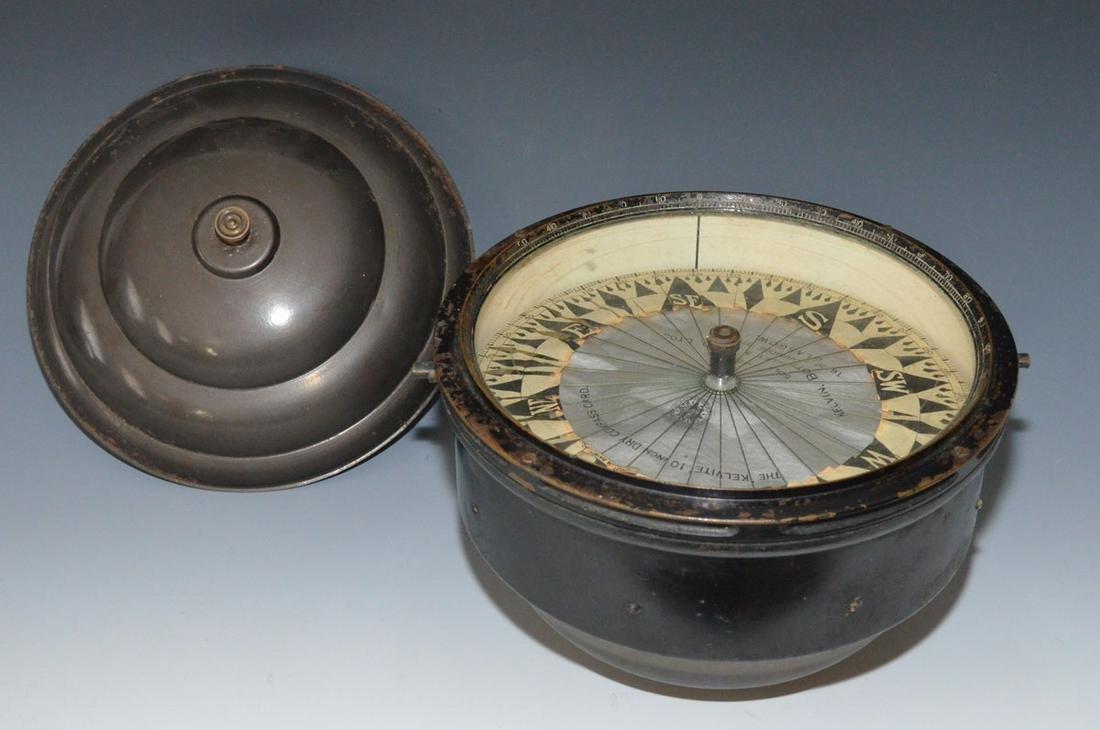 "Kelvite 10"" Dry Compass Glasgow"