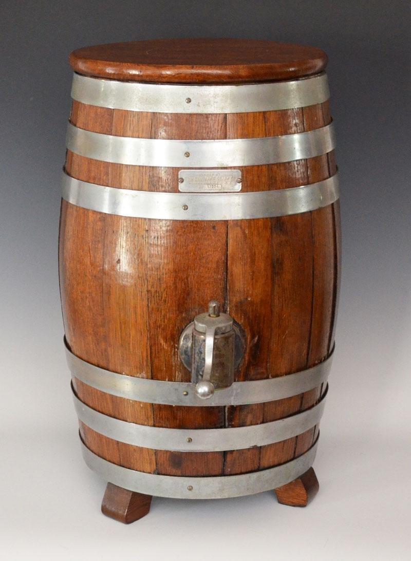 Vintage Charles Hires Root Beer Barrel Dispenser