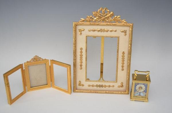 Lot Of Halcyon  ( Clock & Picture Frames  )