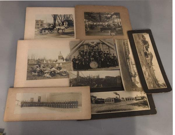 Large Lot Of Old Photographs, Postcards tintypes