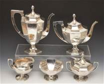 Fabulous International  Marlborough Sterling Tea Set