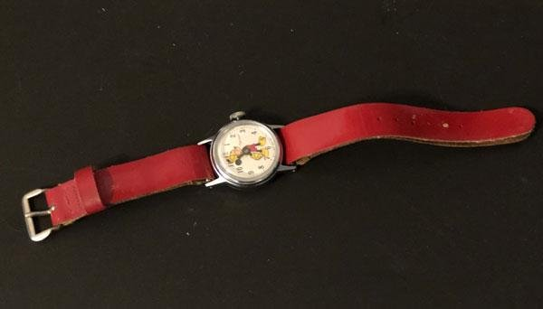 Mickey Mouse Vintage Ingersoll Watch