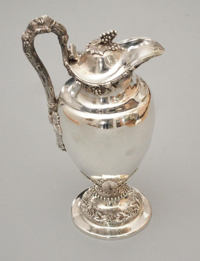 Irish Sterling Silver Wine Pot