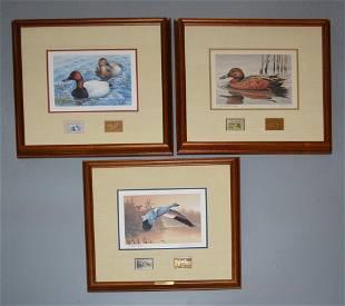 Signed Medallion Ed Duck Stamp Prints