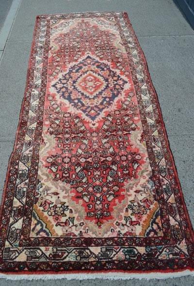 Great Vintage Oriental Carpet/ Rug  Runner