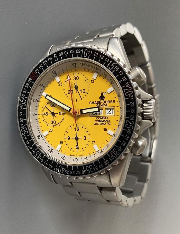 Chase Durer Combat Wrist Watch